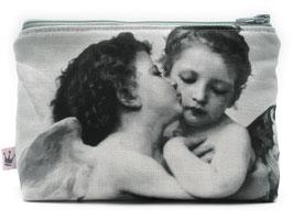 Kosmetiktäschchen «Engeli» gestreift