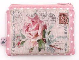Minitäschchen «Rose» Pink