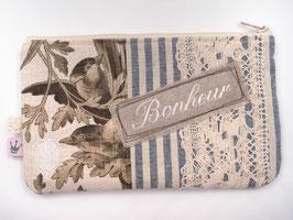 Kosmetiktäschchen «Bonheur»