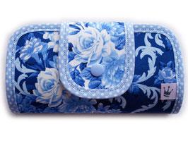 Geldbörse «Rosen» Blau