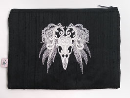 Maxitäschchen «Bird Scull»