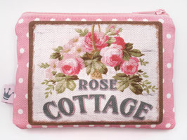 Minitäschchen «Rose Cottage» Pink