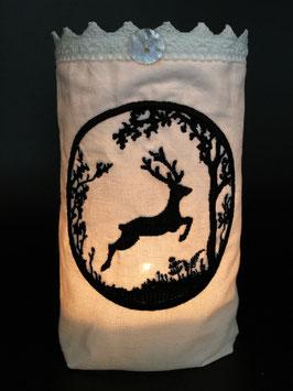 Windlicht «Hirschsprung»