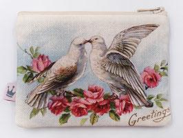 Minitäschchen «Tauben»