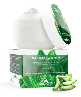 aloe vera algae mask