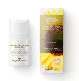 mineral body glow with SPF
