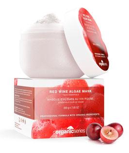 red wine algae mask
