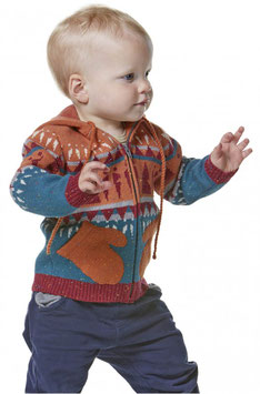 Kinder Strickjacke / Strickweste