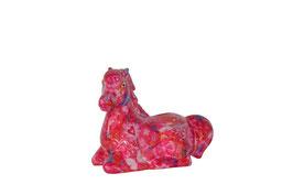 Pferd Daline, pink Peace