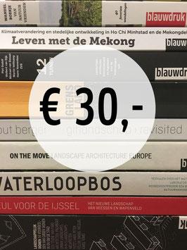 blauwdruk boekenbon voor € 30,-