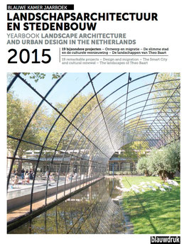 YEARBOOK LANDSCAPE ARCHITECTURE AND URBAN DESIGN 2015