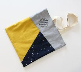Nähprojekt Nr.1 - Die Tasche/navy