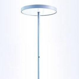 LED Bürostehleuchte Basic-S4 silber