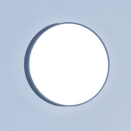 LED Wandleuchte Basic A6 silber