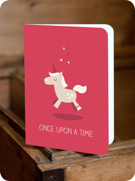 GREETING CARD ONCE UPON A TIME
