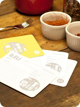 K.EN RECIPE CARDS