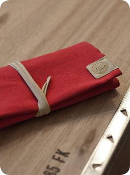 P.EN RED/BEIGE