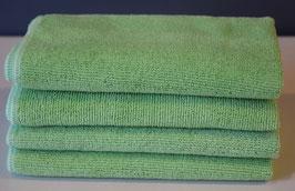 Microfasertücher mit Frotteestruktur grün
