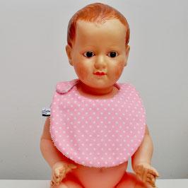 Bavoir bébé stellina rose