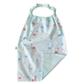 serviette elastiquée lama