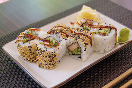75.Teriyaki Chicken Roll