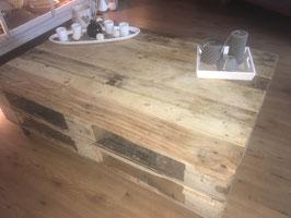 Verrijdbare tafel van Europallethout