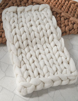 Soft bump blanket (wit)