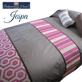 ベッドスプレッド ジェスパ Jespa ピンク サイズ:シングル180×270cm