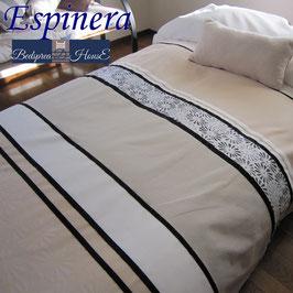 ベッドスプレッド エスピネラ Espinera ベージュ サイズ:クイーン250x270cm ベッドスプレッドハウス BedspreaD HousE