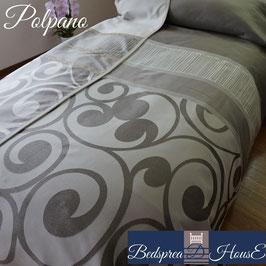 ベッドスプレッド ポルパノ Polpano サイズ:シングル:180×270㎝ セミダブル:200×270㎝ ダブル:230×270cm クイーン:250×270cm