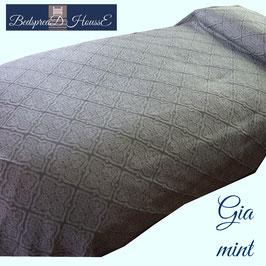 ベッドスプレッド ギア ミント GIA Mint サイズ:シングル:180×270㎝ セミダブル:200×270㎝ ダブル:230×270cm クイーン:250×270cm