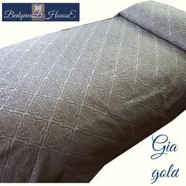 ベッドスプレッド ギア ゴールド GIA Gold サイズ シングル:180×270cm セミダブル:200×270㎝ ダブル230×270cm クイーン:250×270cm