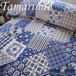 ベッドスプレッド タマリンド Tamarindo ブルー サイズ:シングル180×270cm ベッドスプレッドハウス BedspreaD HousE