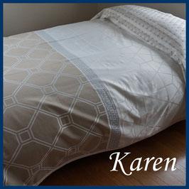 ベッドスプレッド カレン Karen サイズ:シングル180×270cm ダブル230×270cm クイーン250×270cmベッドスプレッドハウス BedspreaD HousE