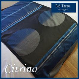 ベッドスロー シトリノ Citrino サイズ:シングル横180×縦80cm ダブル横230×縦80cm  クイーン横250×縦80cmベッドスプレッドハウス BedspreaD HousE