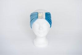 Stirnband hellblau