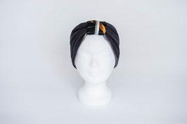 Stirnband anthrazit/grau/schwarz