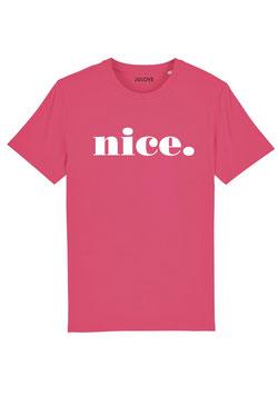 t-shirt nice. pink punsh