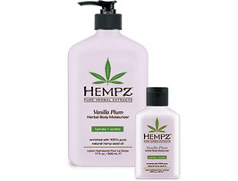 HEMPZ Vanilla Plum - Crème Prolongatrice et Hydratante