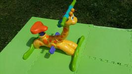 Giraffe fietsje met muziek en geluid