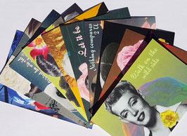 Teenah's Recycling-Postkarten