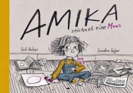Amika zeichnet eine Maus
