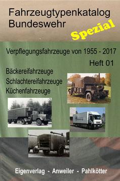 Verpflegungsfahrzeuge der BW - Publikation