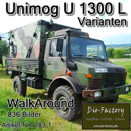 Unimog U 1300 L Varianten