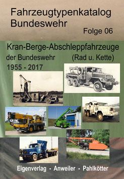 Kran-, Berge- und Abschleppfahrzeuge der BW - Publikation
