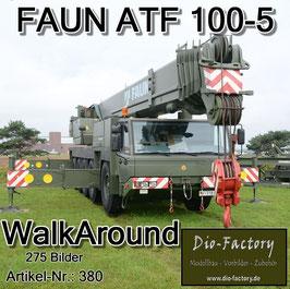 Faun ATF 100-5 Kran