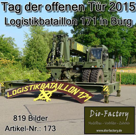 Logistikbataillon 171 in Burg 2015