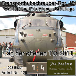 Transporthubschrauber-Regiment 15 in Rheine-Bentlage - 2011