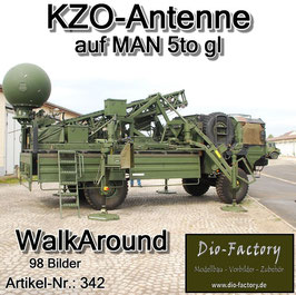 KZO-Antenne auf MAN 5 to.