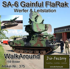 SA-6 Gainful Flugabwehrsystem